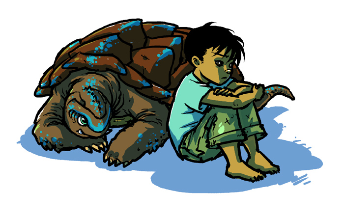 Toto and Toru by mooncalfe on DeviantArt.