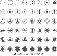 Torx Vector Clip Art EPS Images. 16 Torx clipart vector.