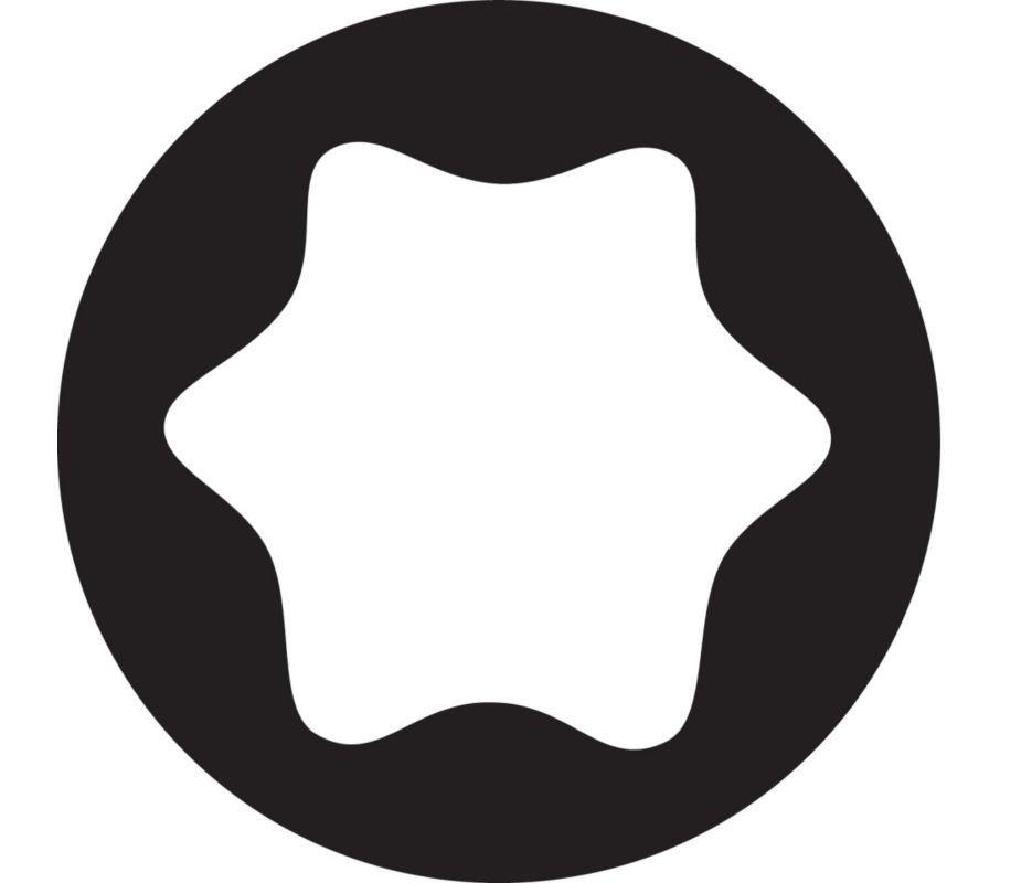 Chapman MFG Star Screwdriver Bits (fit Torx screws).