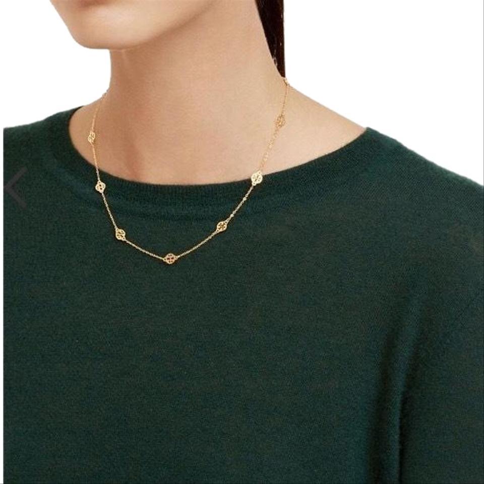 Logo Toggle Short Necklace.