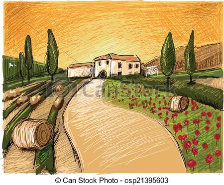 Tuscany Illustrations and Clipart. 1,175 Tuscany royalty free.
