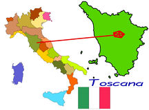 Toscana Stock Illustrations.