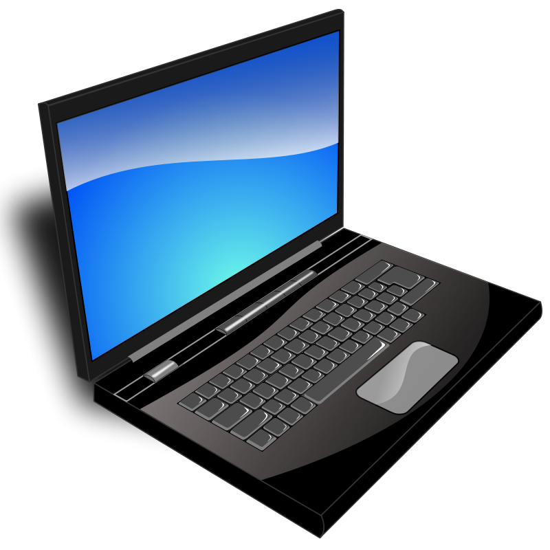Clipart for toshiba laptop.