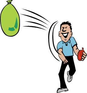 Bean Bag Toss Clipart.