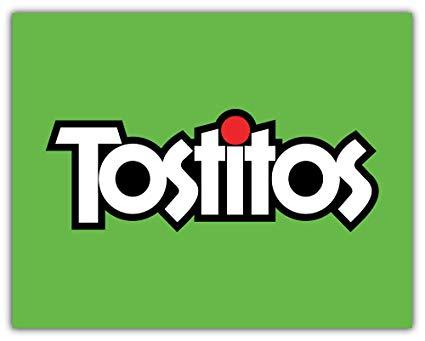Amazon.com: Tostitos Logo Sticker Car Bumper Decal 5\'\' X 4.