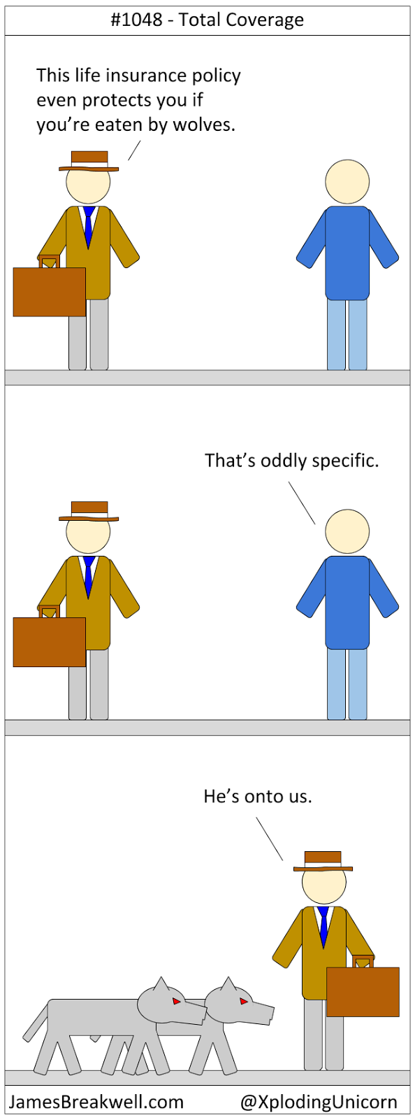 Total Coverage ~ James Breakwell's Unbelievably Bad Webcomic.