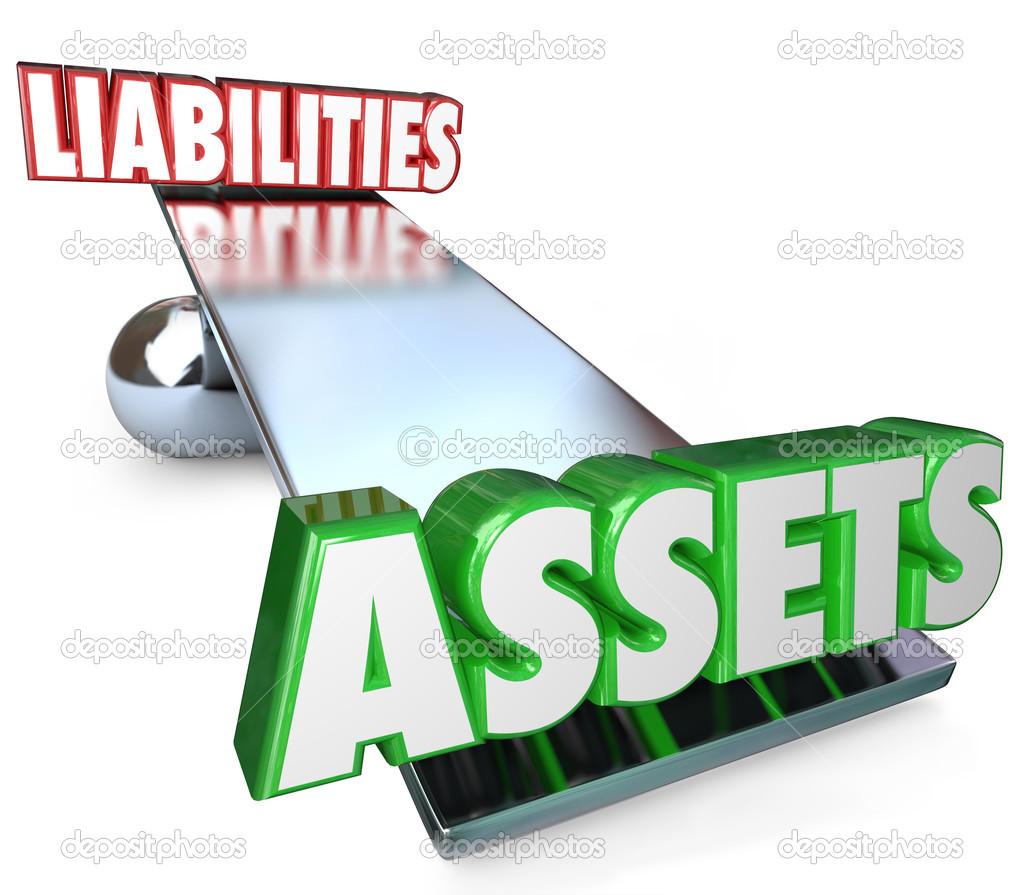 Assets Vs Liabilities Balance Scale — Stock Photo © iqoncept #43579341.