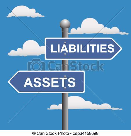 EPS Vectors of Assets liabilities.
