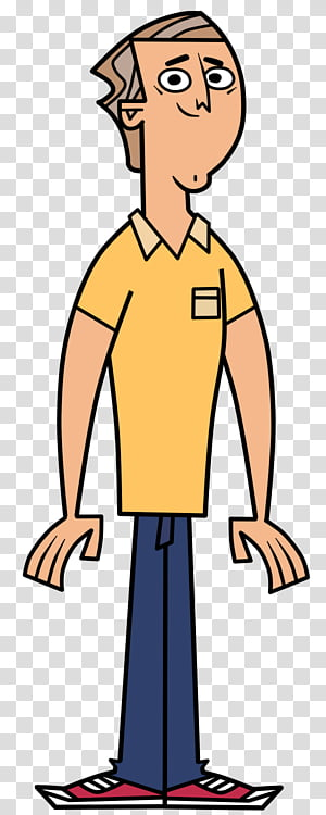 Tyler Total Drama transparent background PNG clipart.
