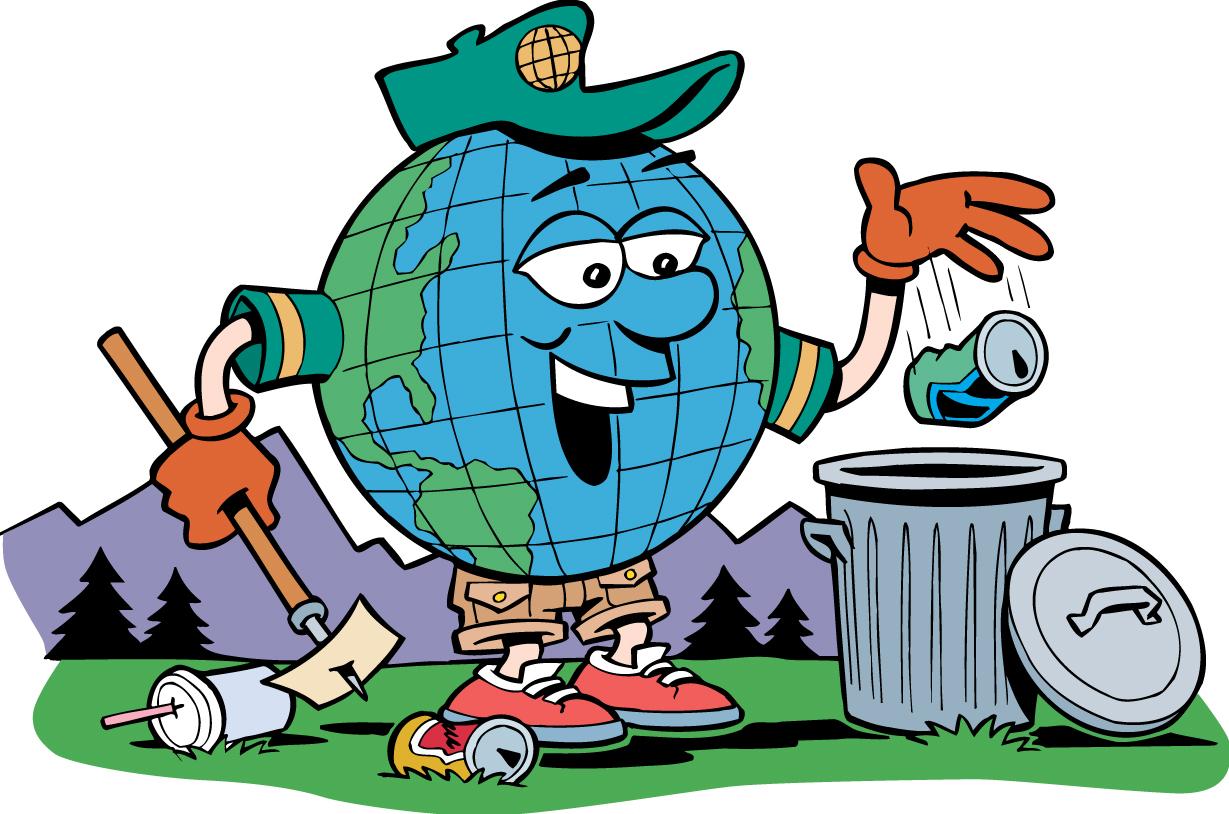 Garbage clipart proper waste management, Garbage proper.