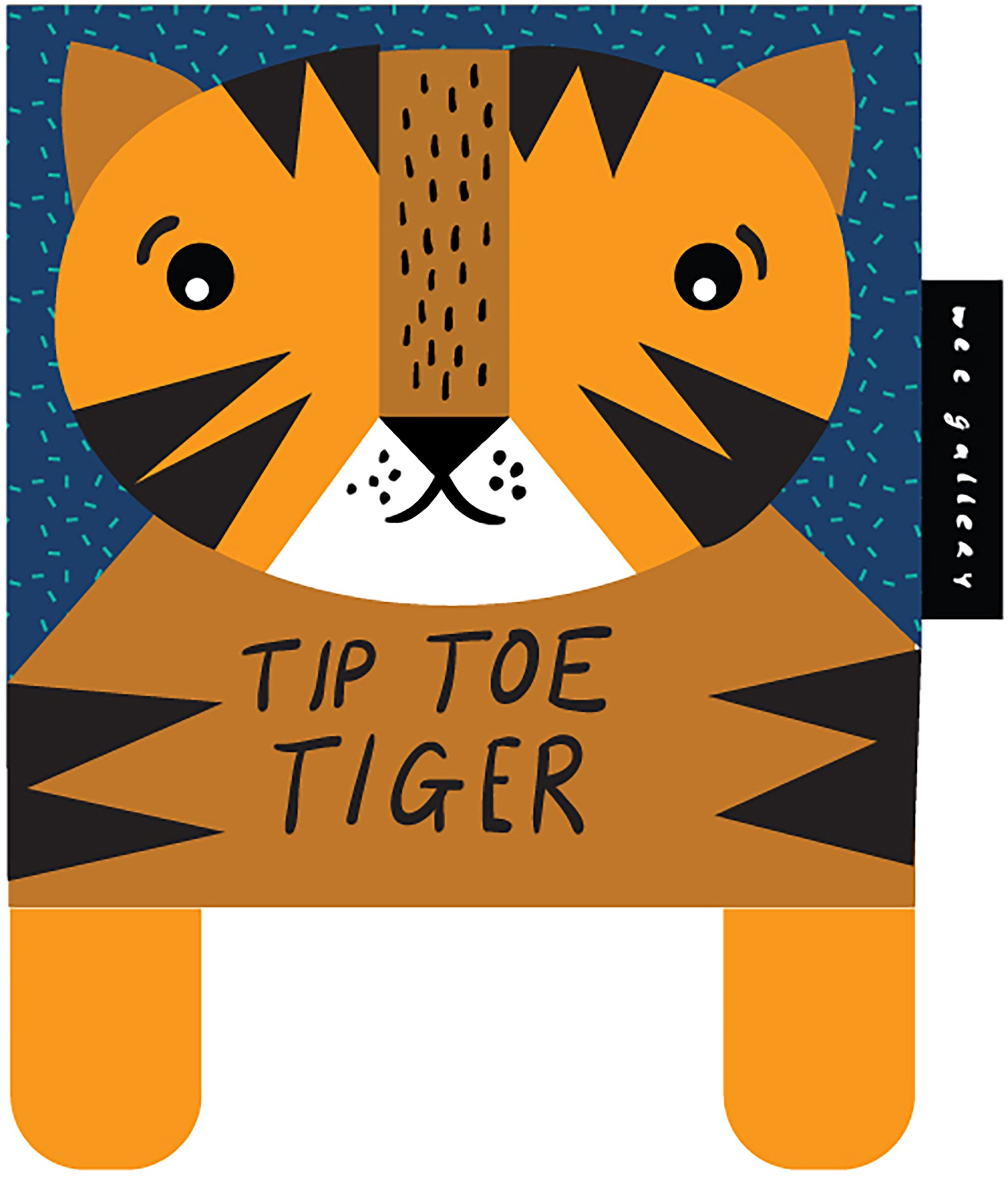 Tip Toe Tiger: Baby\'s First Soft Book Wee Gallery: Amazon.co.