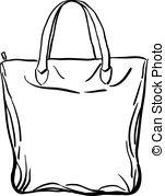 Tote bag Clip Art Vector Graphics. 466 Tote bag EPS clipart vector.