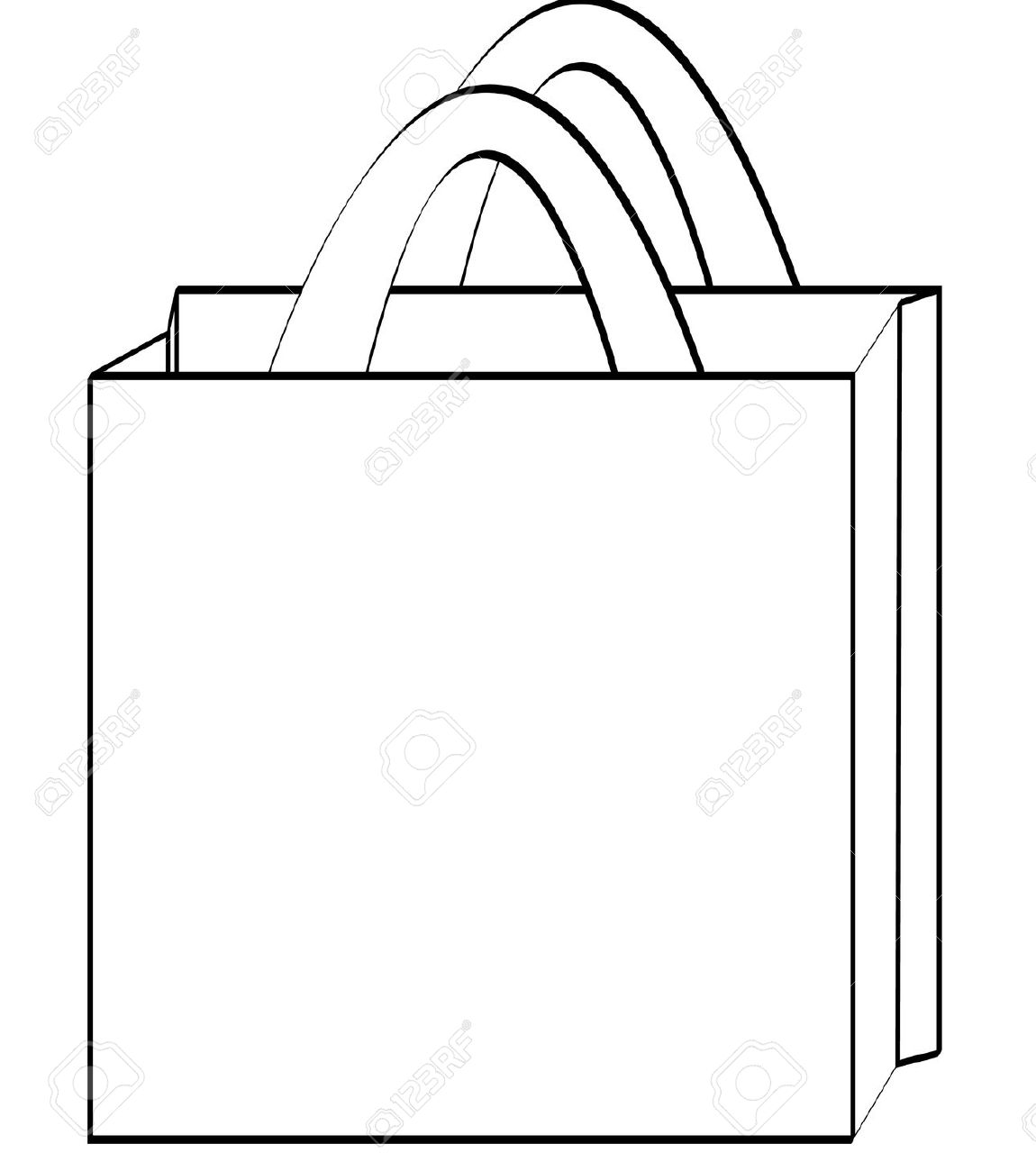 Tote bag clipart.