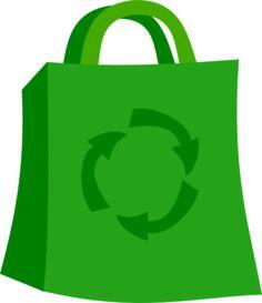 Cute Shopping Bag Clip Art.