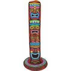 Tiki Totem Pole Clipart.