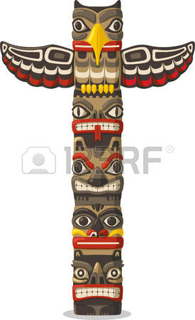 489 Totem Pole Stock Illustrations, Cliparts And Royalty Free.