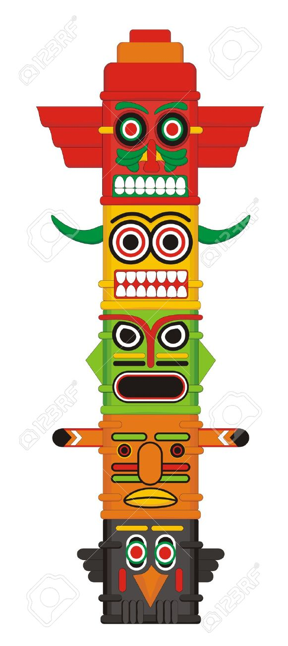 Totem pole clipart 20 free Cliparts | Download images on ...