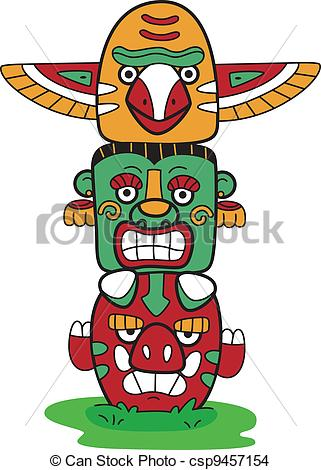 Totem pole Illustrations and Stock Art. 287 Totem pole.