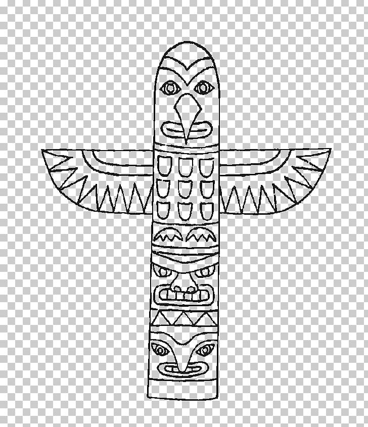 Totem Pole Coloring Book Indigenous Peoples Of The Americas.