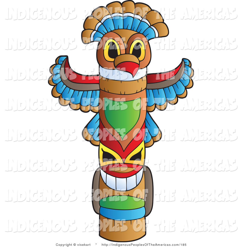 Totem Pole Clipart.