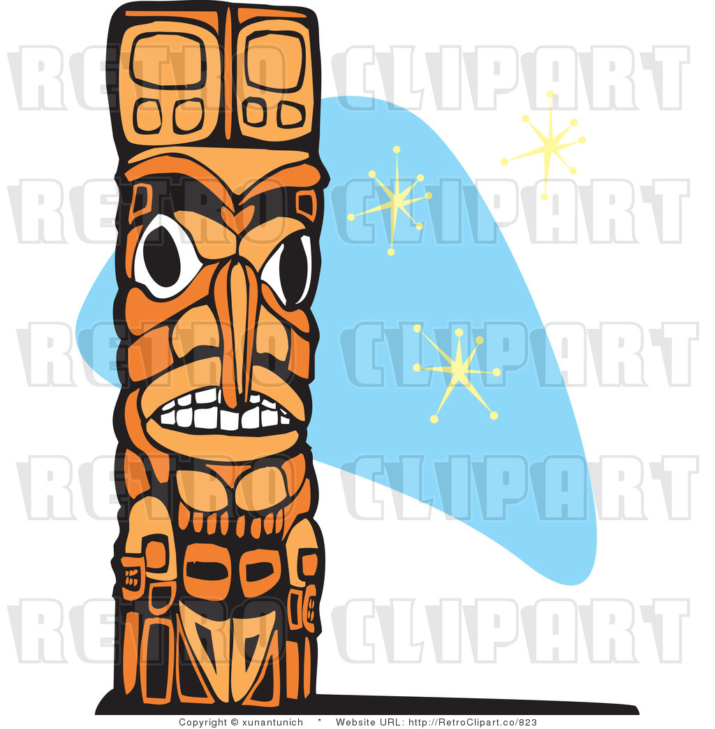 Totems clipart #18