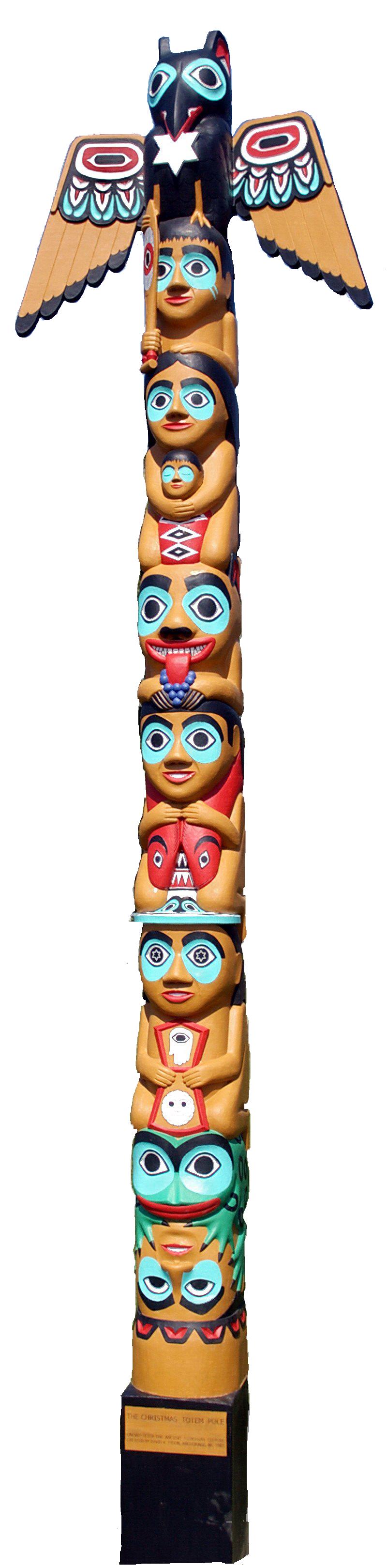 Totem Clipart.
