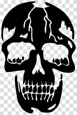 Totenkopf transparent background PNG cliparts free download.