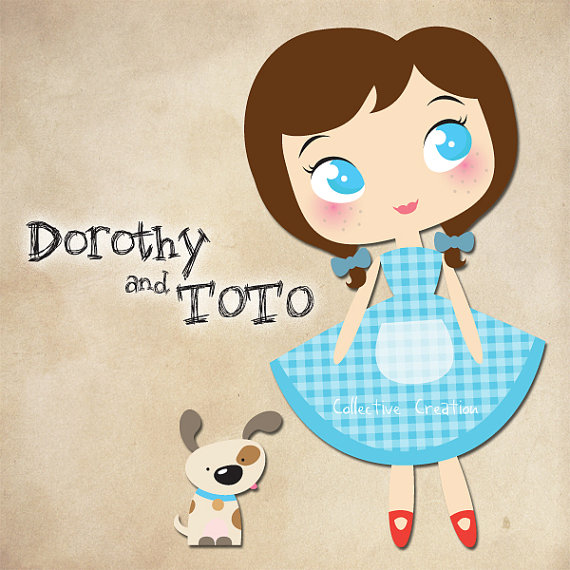 Dorothy And Toto Clipart.