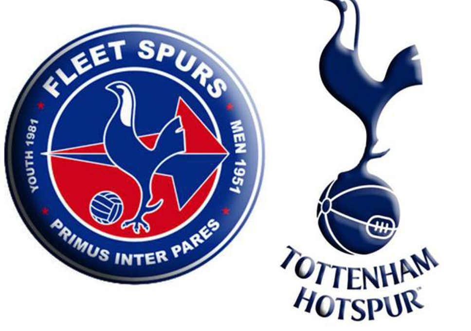 Tottenham Hotspur badge: Fleet Spurs made to change their.