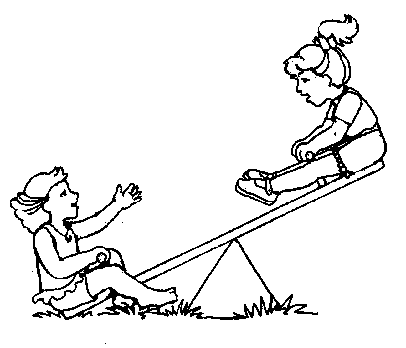 Teeter Totter Images.