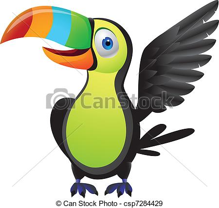 cute baby toucan clipart #4