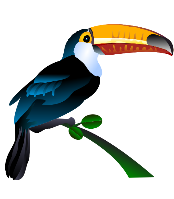Free to Use & Public Domain Toucan Clip Art.