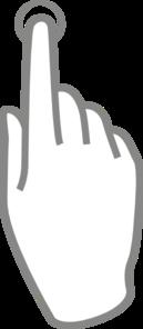 Touch Button Clip Art at Clker.com.