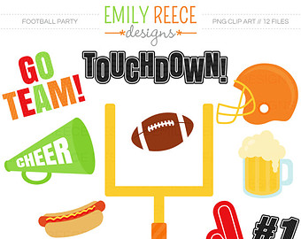 Touchdown Clipart.