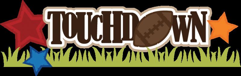 Touchdown clipart free.