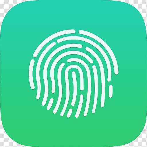 IPhone 8 iPod touch iPhone 5s Touch ID, lie transparent.