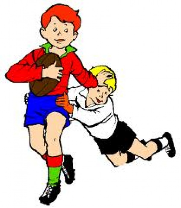Tag rugby clipart.