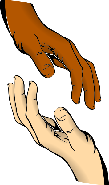 Touching Clipart.
