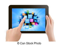 Touch pad Clipart and Stock Illustrations. 16,241 Touch pad vector.