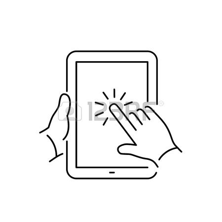 78,272 Touch Screen Cliparts, Stock Vector And Royalty Free Touch.