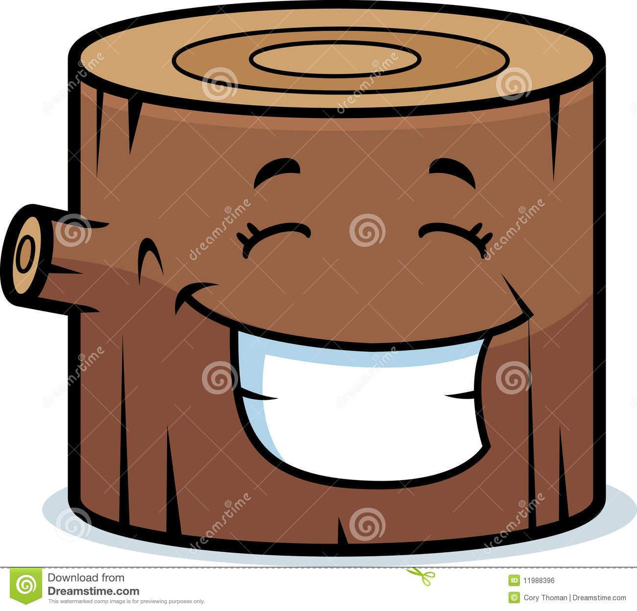 Log Wood Clipart.