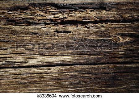 Stock Photo of Touchwood background k8335604.