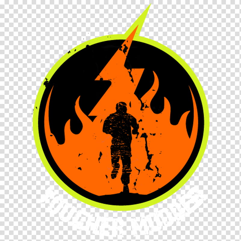 Running Logo, Tough Mudder, Obstacle Racing, Obstacle Course.