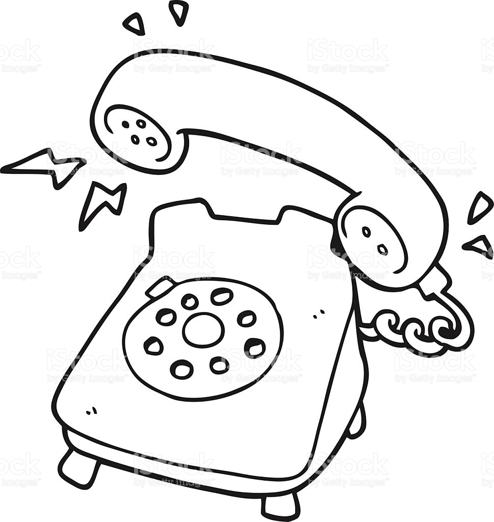 2240 Telephone free clipart.
