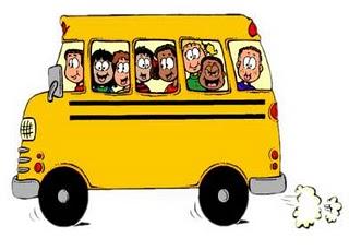 Funny Tour Bus Clipart.