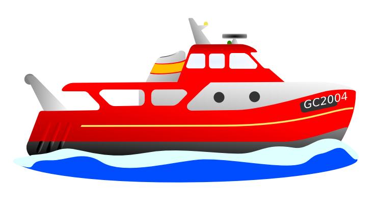 clipart boat cartoon #5