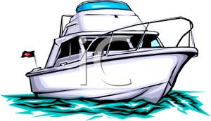Yacht boat clipart.