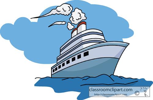 Travel 08 Cruise Ship Classroom Clipart