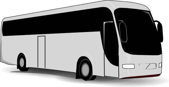 Travel Bus clip art.