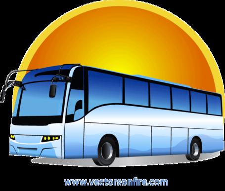 Bus Clip Art, Vector Bus.